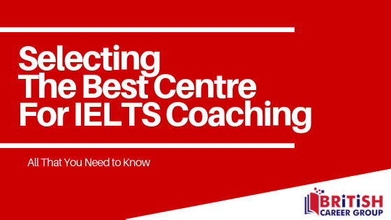 selecting best ielts coaching institute